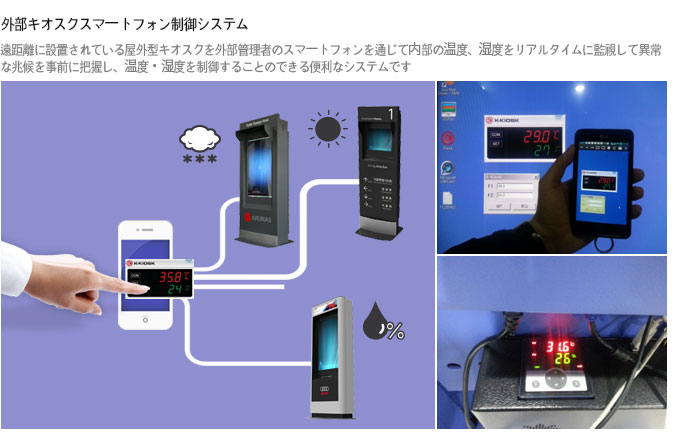Tested by a kiosk manufacturer located in Osaka of Japan (June, 2013)